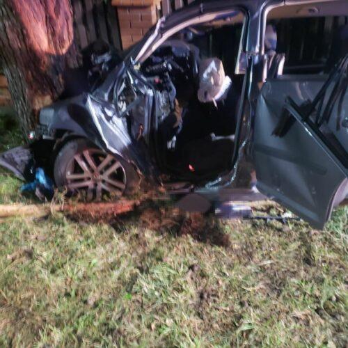 Śmiertelny wypadek w miejscowości Nadole – policjanci wyjaśniają jego okoliczności