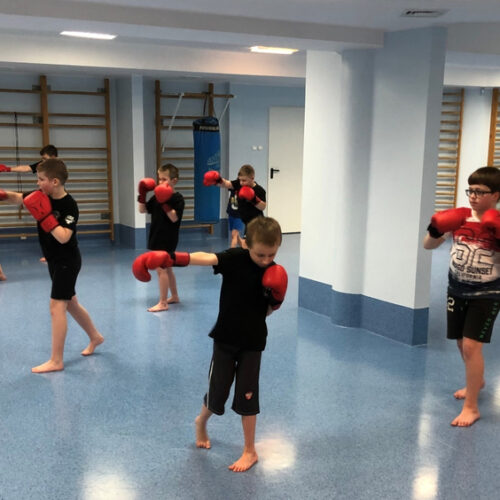 """Zapisy do wejherowskiej sekcji kickboxingu Klubu Sportowego """"MAXIMUS"""""""